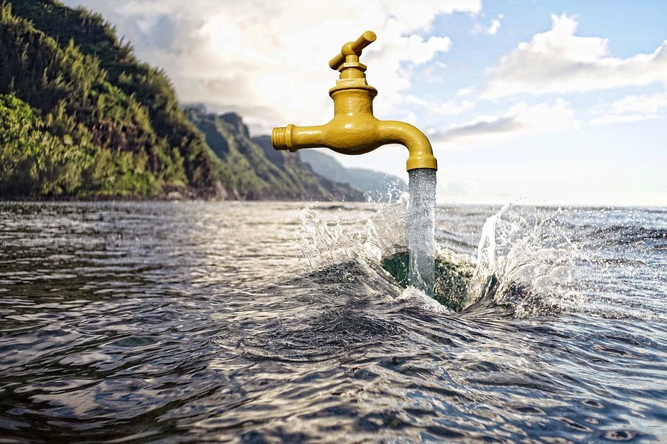 Flowing tap